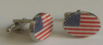 USA Country Flag Cufflinks